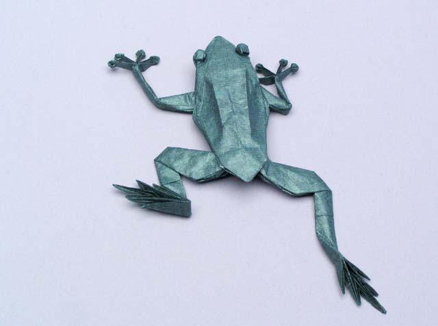 Origami Tree Frog Robert J Lang