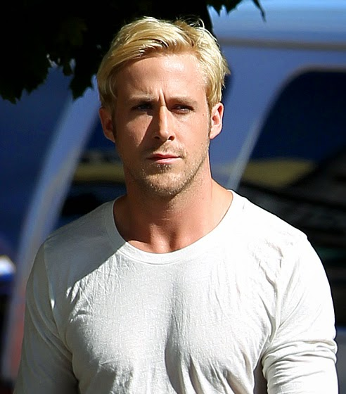 ryan gosling blonde hair, blond hair