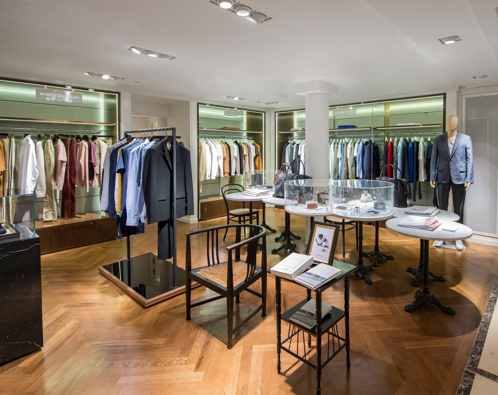 Adentro Style Le Bon Marche Has Some Great News For Men
