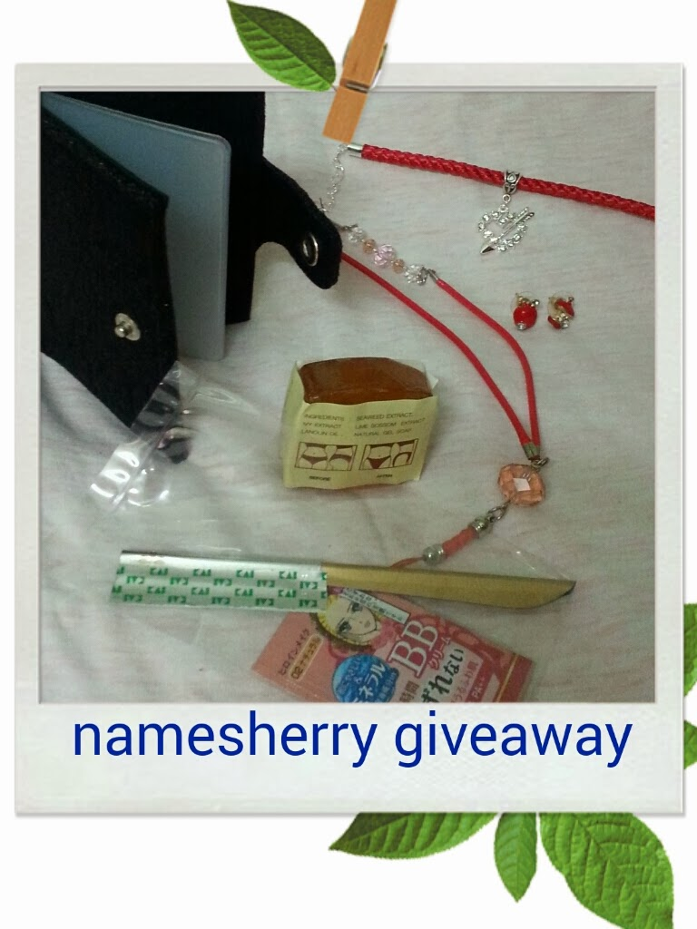 Namesherry giveaway
