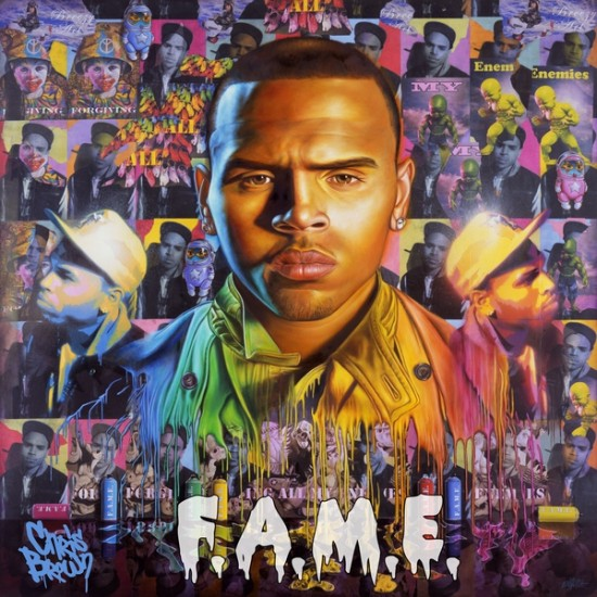 Chris-Brown-FAME-album-cover. Three lucky Chris Brown fans can now win the
