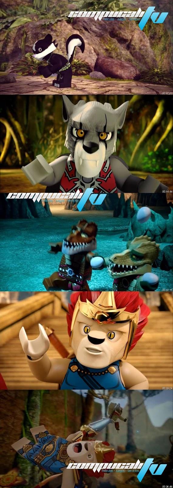 LEGO: Leyendas de Chima - El Poder del Chi DVDRip Español Latino