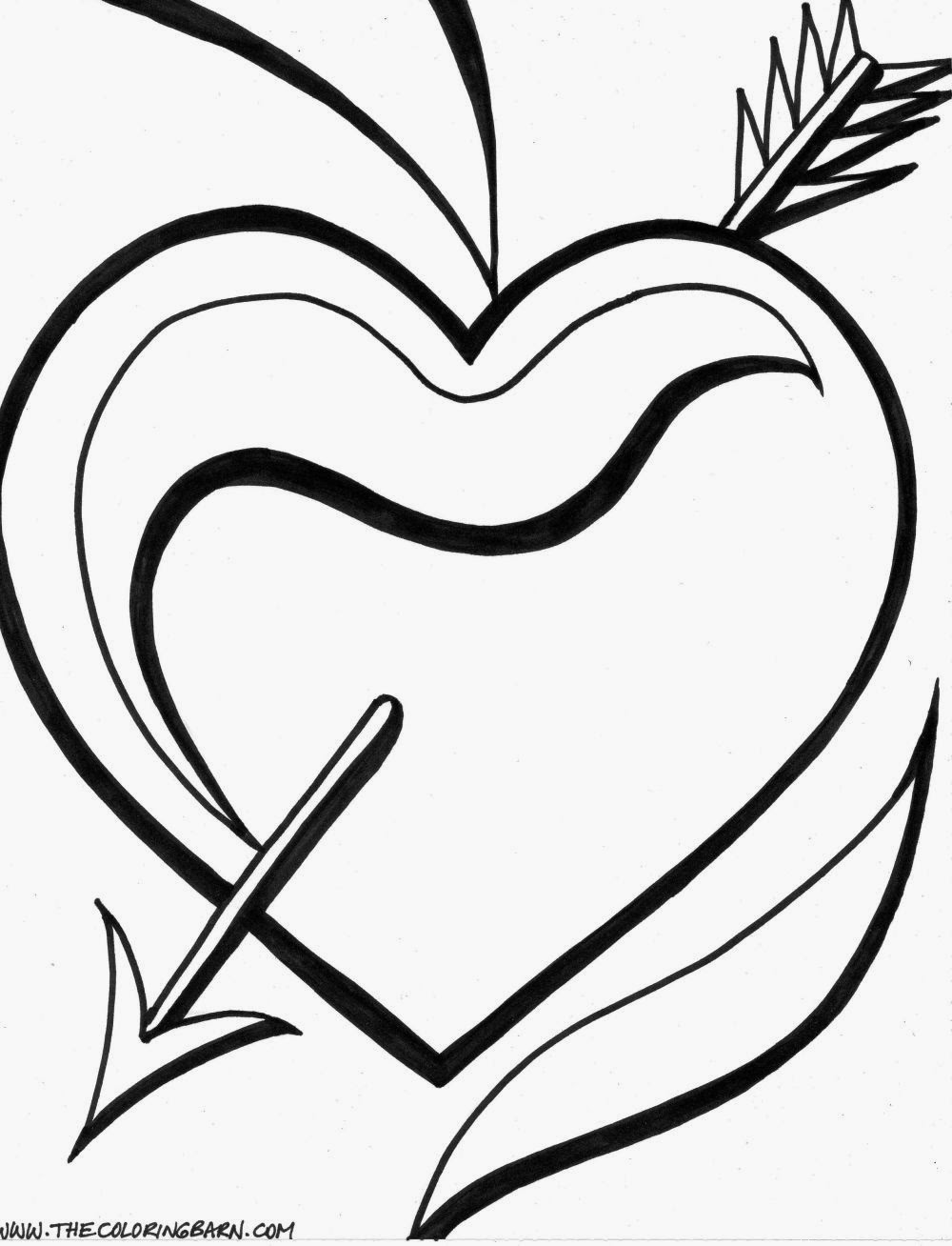 coloring pages of hearts printable coloring pages hearts 2 valentine printable coloring pages - Coloring Pages Hearts Roses