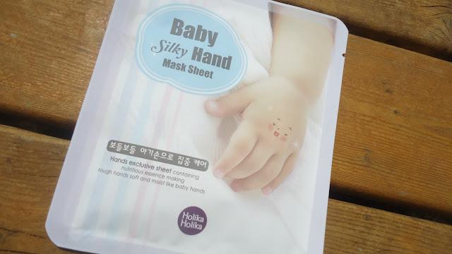 baby silky hand holika holika