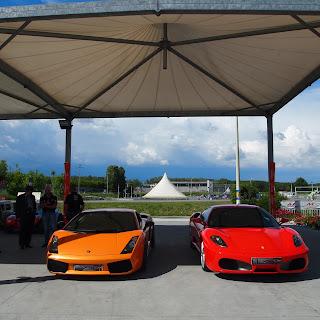 Ferrari F430 e Lamborghini Gallardo Superleggera