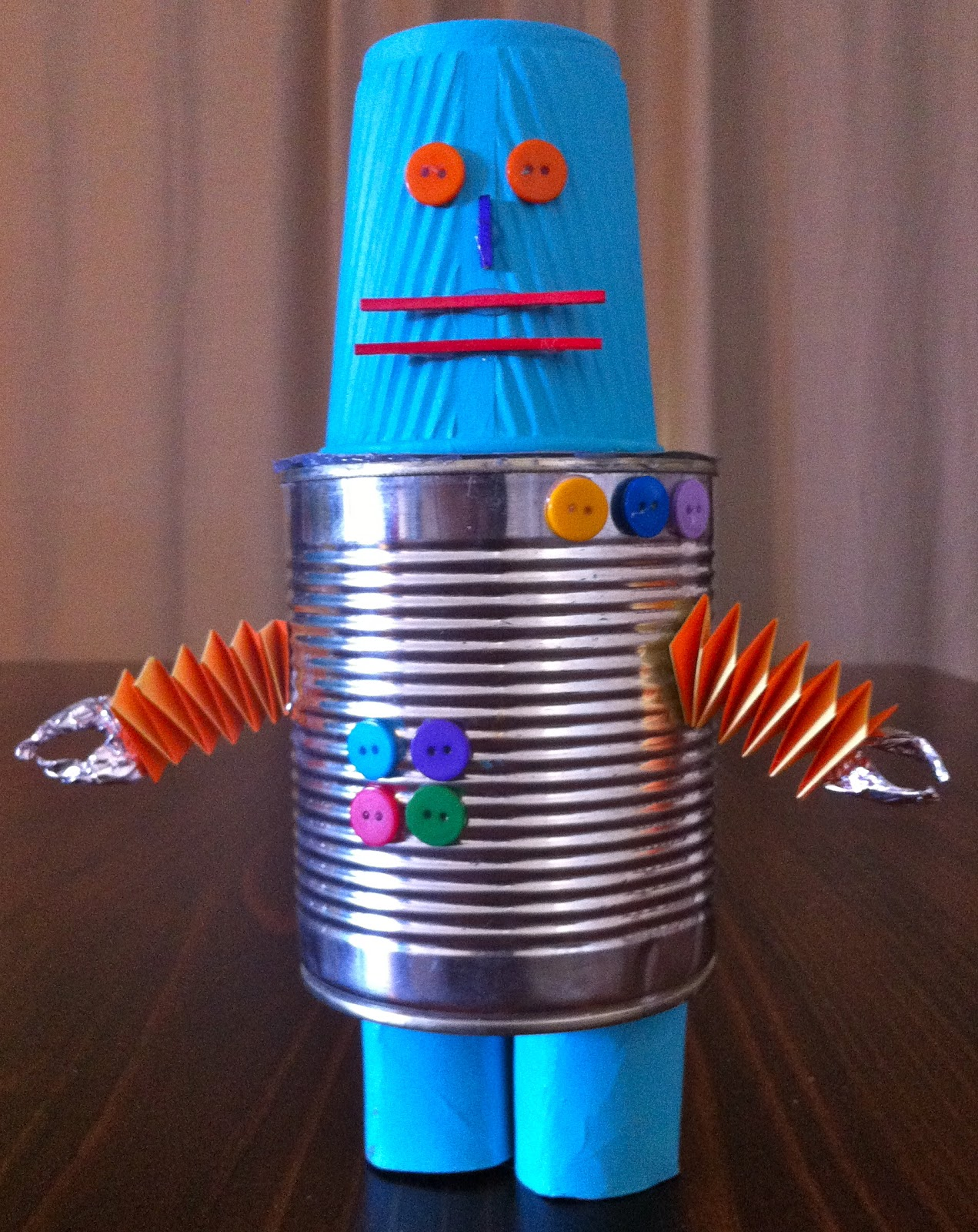 Look love create the robot book by heather brown for Materials for kids