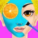 Summer Girl Makeover App iTunes App Icon Logo By Ninjafish Studios - FreeApps.ws