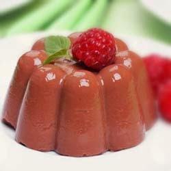 Resep Puding Coklat Saus Vla