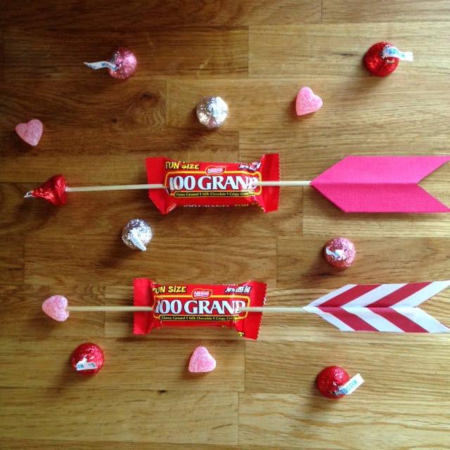 how to make candy arrows