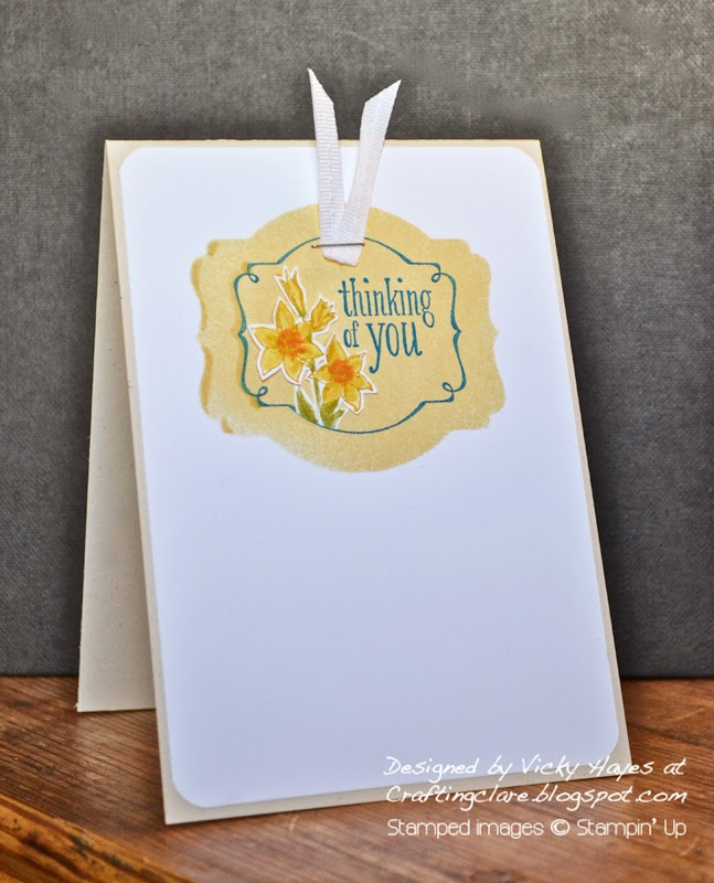 Deco Label framelits and free Saleabration stamps by Stampin' Up available to buy online from Crafting Clare's Paper Moments