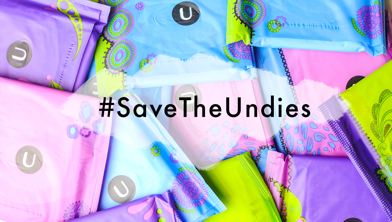 save the undies, u by kotex, 3d capture core, new u by kotex ultra thin pad, u by kotex pads