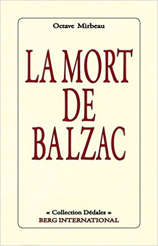 """La Mort de Balzac"", avril 2016"