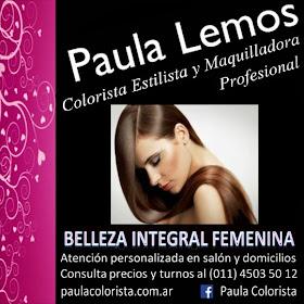 PAULA LEMOS - Estilista. Maquilladora Profesional