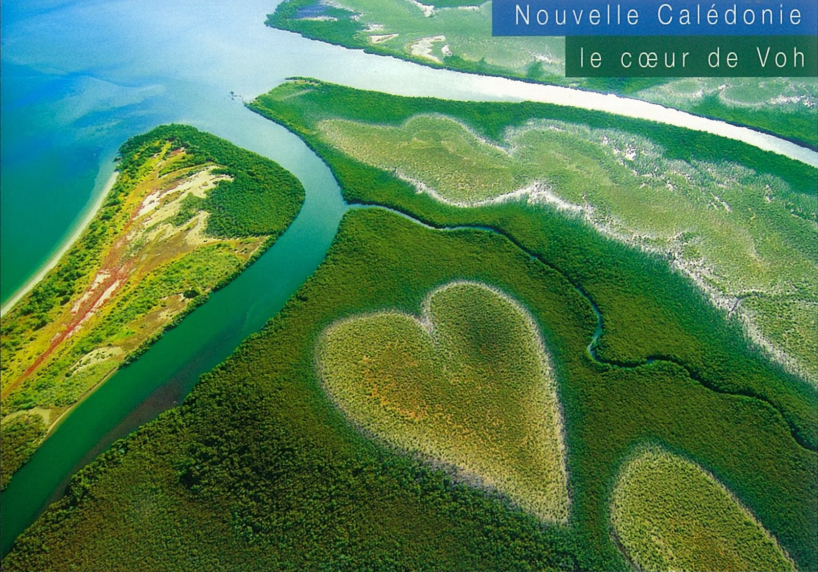 Kun 39 s postcrossing heart of voh new caledonia for The caledonia