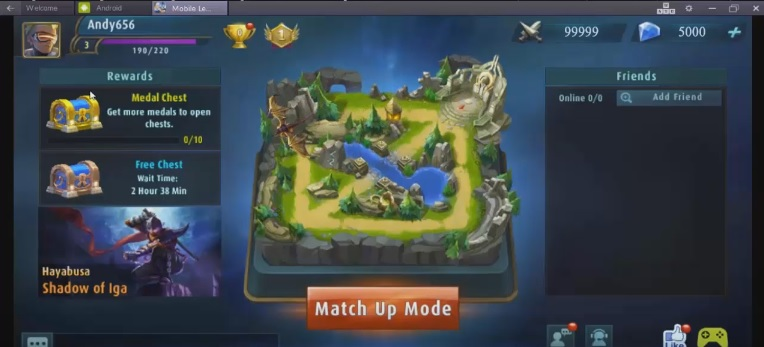 Game Mobile Legend Beng Beng