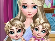 Frozen Elsa Twins Care 2