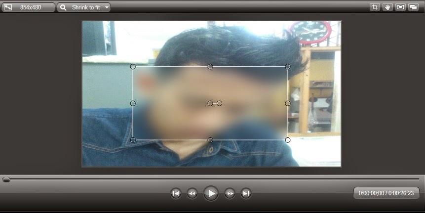 Cara Membuat Efek Blur Pada Video