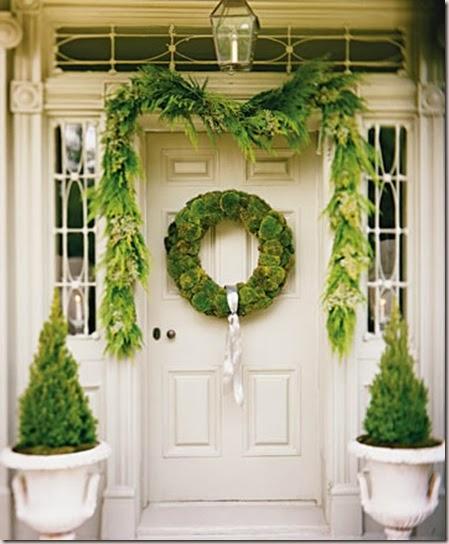 como decorar puertas en navidad parte