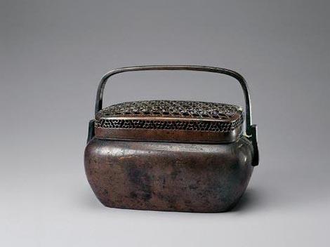 Qing bronze Hand Warmer