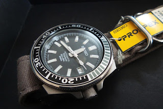 RM3800: Black Samurai Titanium (no box/bracelet)
