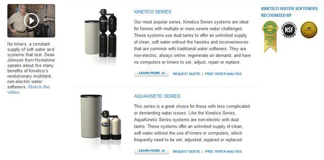 Kinetico Water Softeners