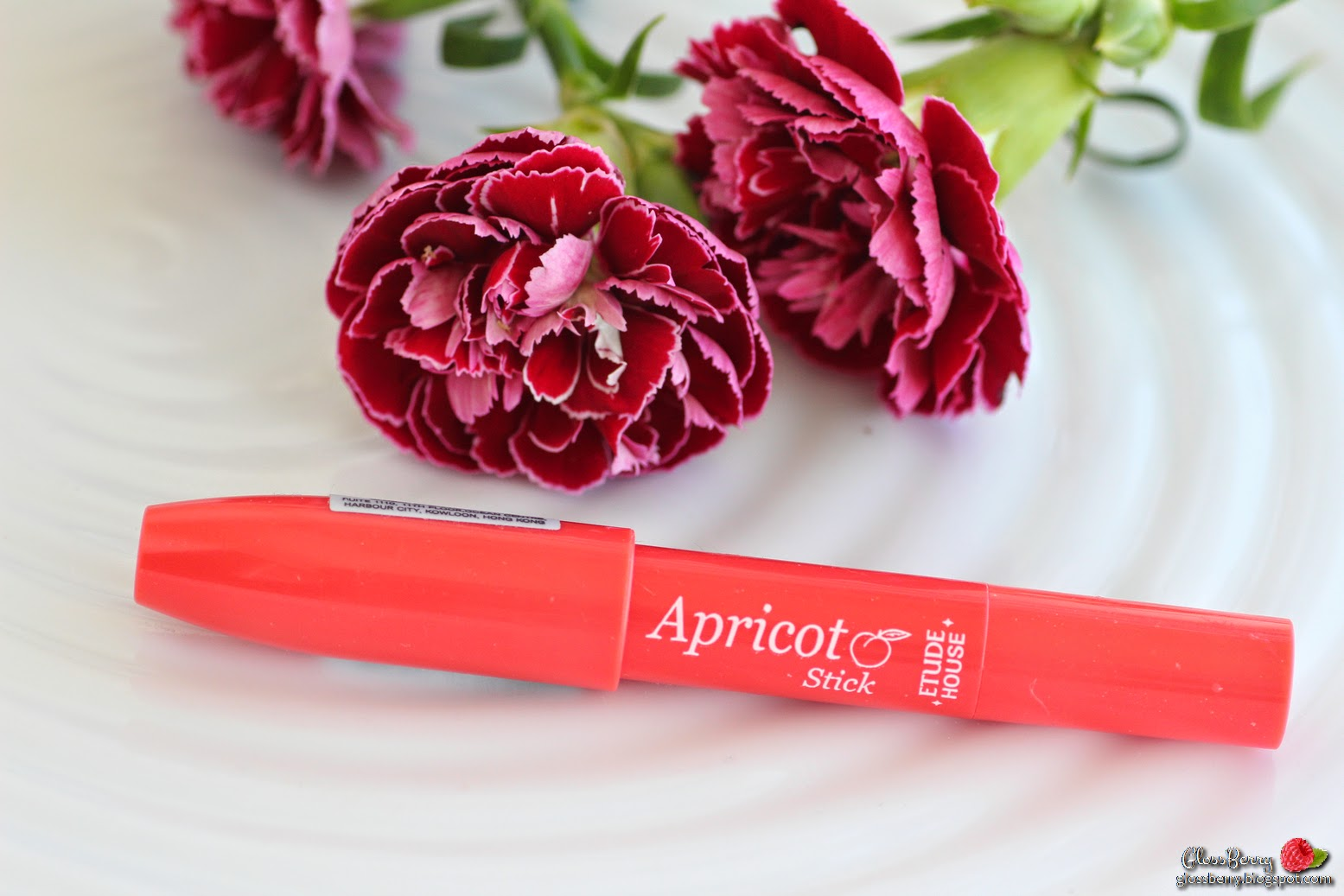 etude house apricot stick review swatch