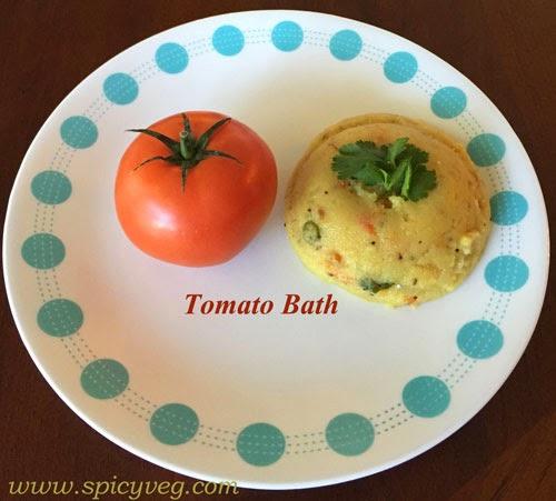 Tomato Bath (Udipi Style)