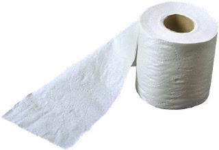 Dominoart d 39 art dmt embossed toilet paper technique for Toilet paper roll challenge
