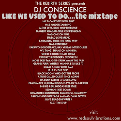 DJ CONSCIENCE'S LIKE WE USED TO DO MIXTAPE