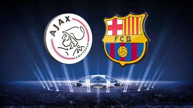 Ajax vs Barcelona Liga Champions 2014-2015
