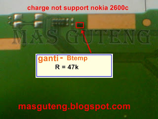 charge not support nokia 2630c