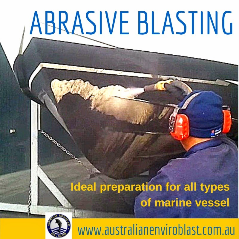 Australian Enviroblast is a specialist in abrasive blasting for all types of marine vessels, structures and equipment