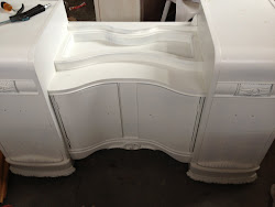 In the works little girl white vanity.  $295-