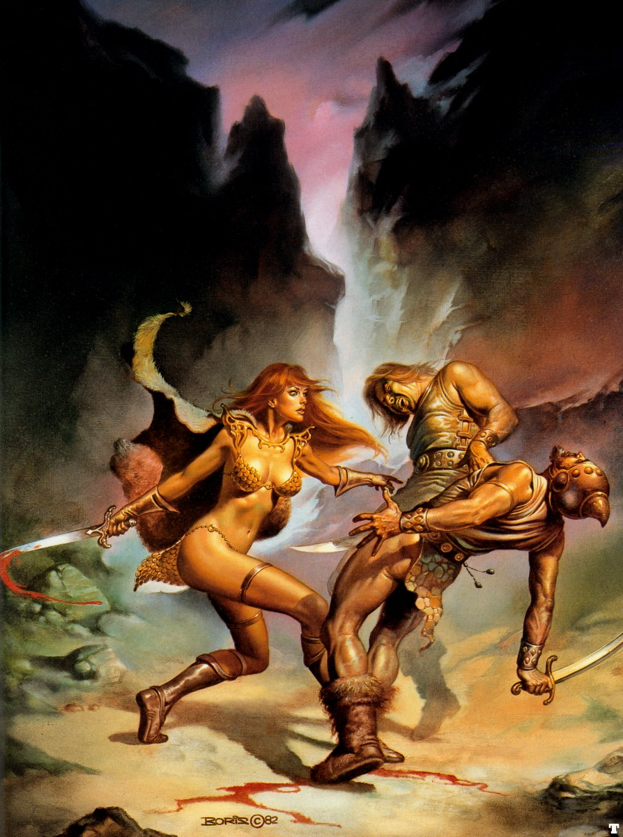 Medieval warrior art erotica hentai image