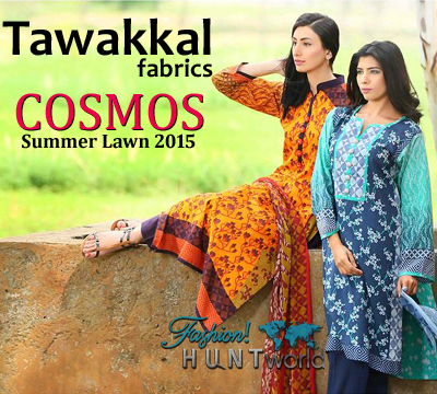 Tawakkal Fabrics - Cosmos Summer Lawn Collection
