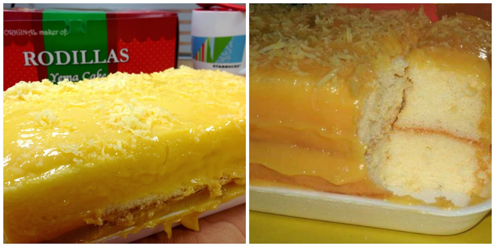 Yema Cake Red Ribbon