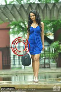 Shalani Tharaka short dress