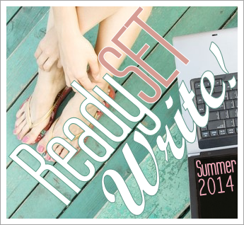 Ready. Set. WRITE! {Summer 2014}: