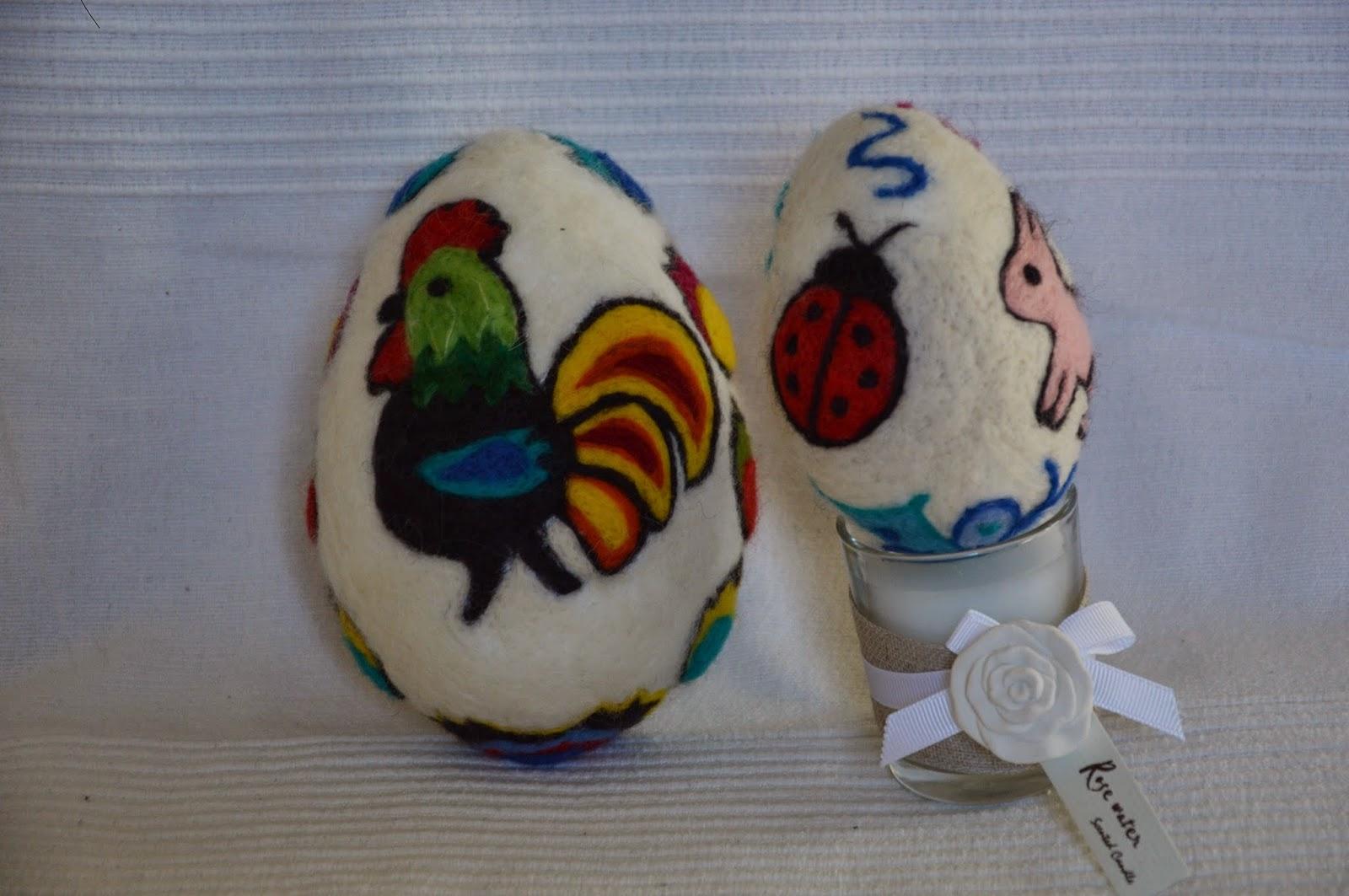 jajka ręcznie robione