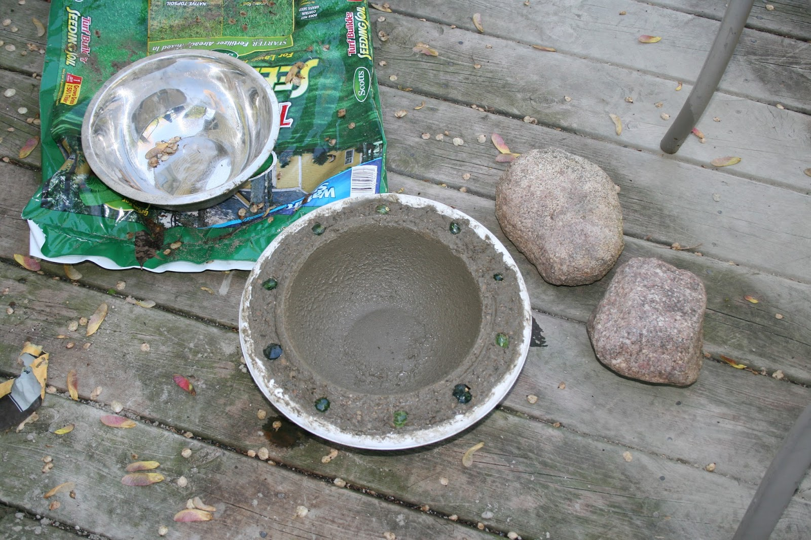 ashley diy diy concrete bird bath for under ten bucks