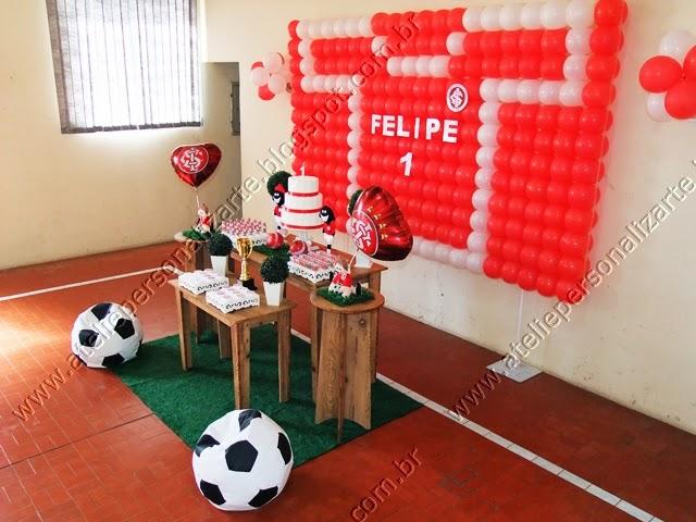 decoração de festa infantil Inter