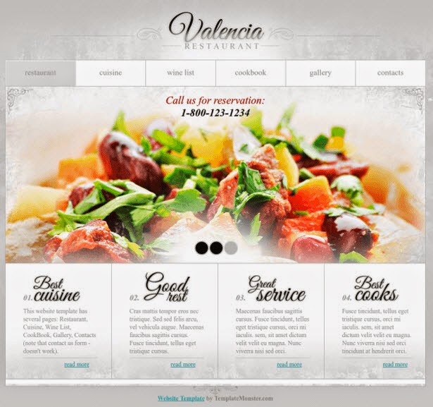 15 free ecommerce html5 css3 website templates share the best free website template restaurant business flashek
