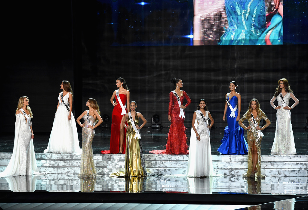 SASHES AND TIARAS.....Miss Universe: EVENING GOWN Recap + The Oh My ...
