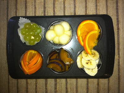 muffin tin fruit platter