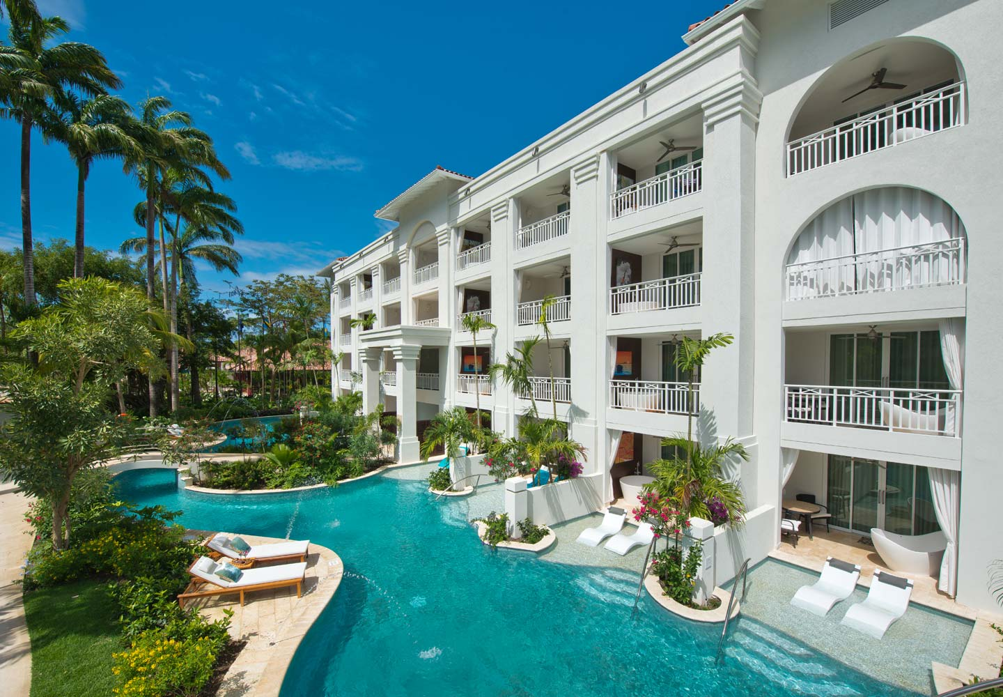 Travel 2 the caribbean blog sandals barbados expanding for Modern all inclusive resorts