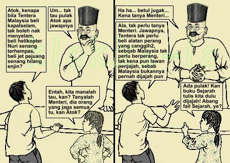 1Malaysia: Dijajah ke tak? Merdeka ke tak? (1Malaysia: Colonised or not? Freed or not?) www.klakka-la.blogspot