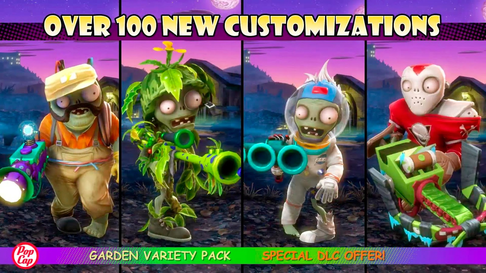 Plants Vs. Zombies: Garden Warfare - Variety Pack
