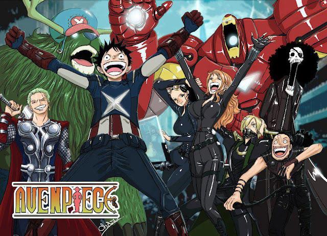 One Piece X Avenger Wallpaper 0013