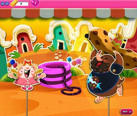 Candy Crush Saga 681-690 ending