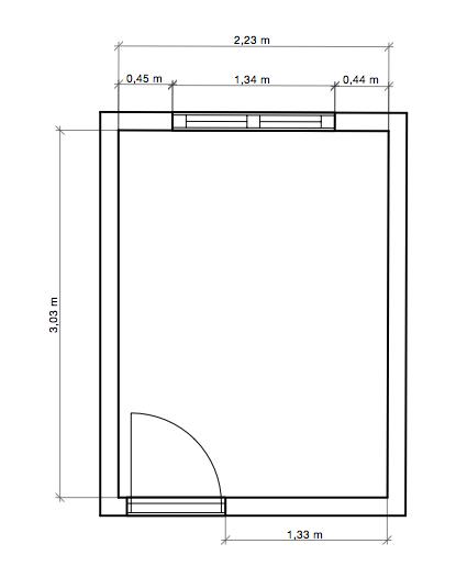 Cambio de ubicación del dormitorio principal